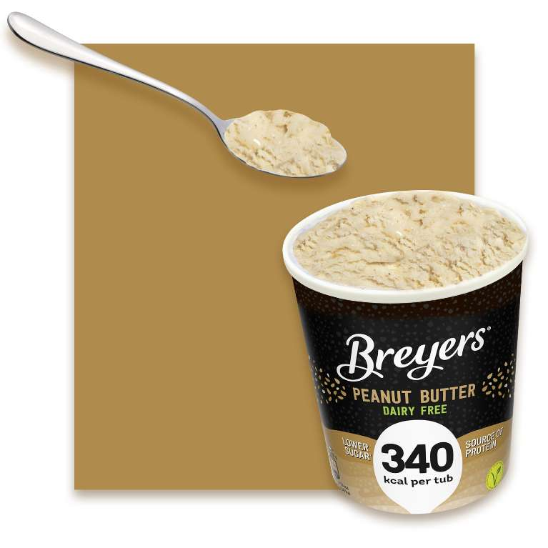 Breyers Peanut Butter Dairy Free & Low Calorie ice cream 465ml